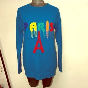 "Vintage Nurum Triko Knit ""Paris"" Sweater"